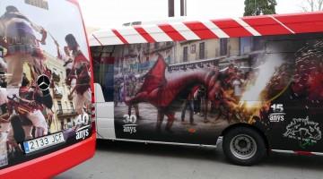 Tres microbusos a la xarxa de transport municipal de Tarragona