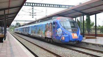 Vinilado tren PortAventura (3)