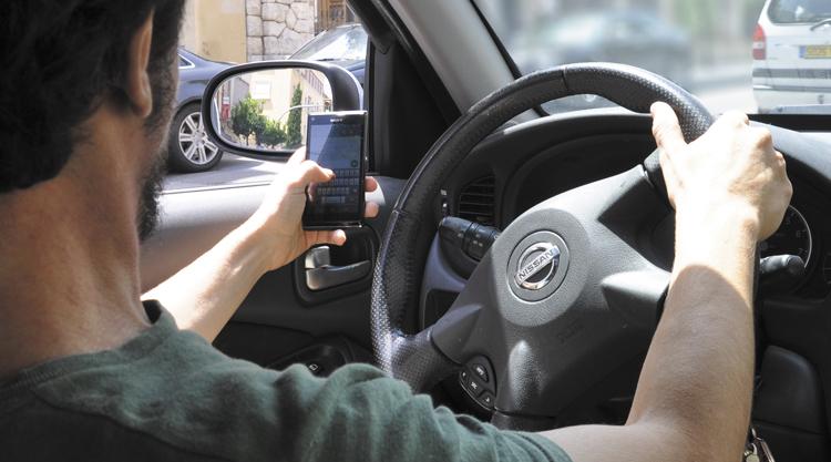 Distraccions mòbil