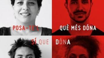Cartell de la campanya campanya 'Póntelo ¿Qué más dá? Si da'.