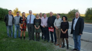 Última reunió del Pacte de Berà del passat 9 de novembre a Bellvei.