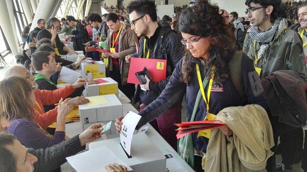 Les bases de la CUP han decidit el futur polític de Catalunya aquest dissabte a Sabadell