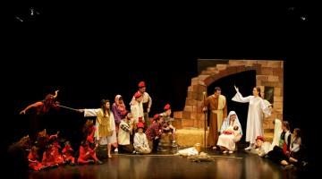 Representació dels Pastorets al Morell./Cedida