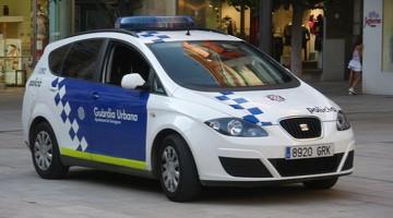 Vehicle de la Guàrdia Urbana de Tarragona.