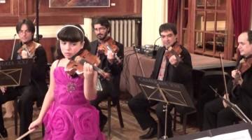 La violinista de deu anys  Jennifer Panebianco continua sorprenent el públic
