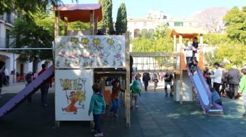 El parc de les Entitats d'Altafulla es va inaugurar per primera vegada l'any 2015/Cedida