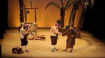 Moment dels Pastorets al Teatre Principal de Valls.