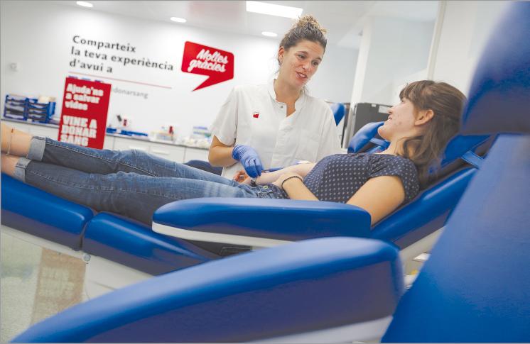 L'Hospital de Santa Tecla disposarà d'un punt fix de donació de sang a partir de l'any vinent al centre de la ciutat de Tarragona. / Fotografia Jordi Play (cedida per BST).