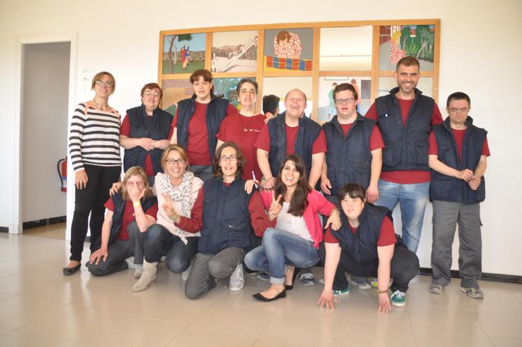 DIVERSITAT FUNCIONAL - Amb la Fundació Estela i el CET Santa Tecla s'està al costat de prop de 300 persones que presenten alguna discapacitat psíquica.