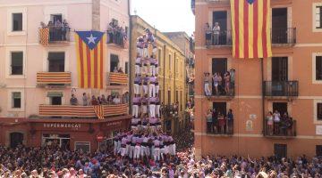 Diada de Sant Magí. 5d9 amb folre de la Colla Jove de Tarragona