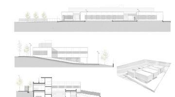 Maqueta del nou centre sanitari que donarà servei a la zona del Botafoc del Vendrell a partir de l'estiu de 2018