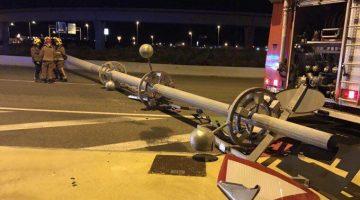 Incident a les Gavarres de Tarragona. Fotografia de Ricard Checa (www.larepublicacheca.com)